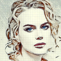 NicoleKidman photo to paint