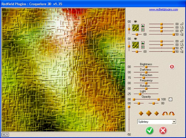Click to view Craquelure 3D plug-in 1.70 screenshot
