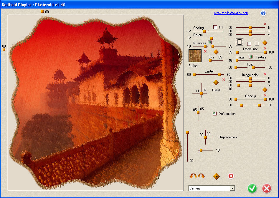 Click to view Plasteroid plug-in screenshots