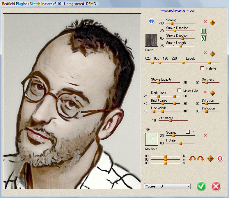 Photo to Sketch Plug-in: Sketch Master, Photo Art Software